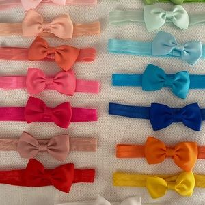 soft stretchy baby/ kids bows